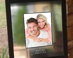 personalized wedding autograph frame signature frame etsy