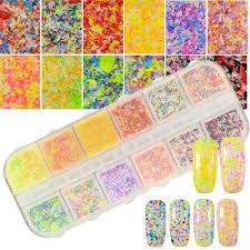 online get cheap colored glitter acrylic powder aliexpress com