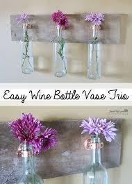 Diy Wine Bottle Vases Hand Painted Wine Bottle Vase Picmia