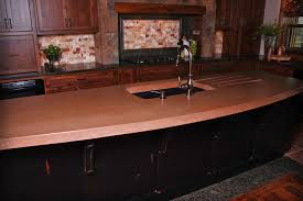 Custom Kitchen Countertops Home Concrete Creations Nwa