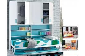 lit escamotable avec bureau armoire lit escamotable horizontal rabatable bureau rangement