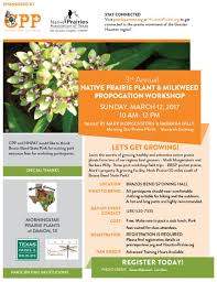 native plants of south texas 3rd annual native prairie plant and milkweed propagation workshop