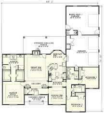 House Plans With Covered Porch 691 Best House Plans Images On Pinterest House Floor Plans