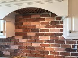 DoItYourself Brick Veneer Backsplash Remington Avenue - Backsplash brick