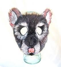 ready to ship size mouse mask rat mask animal mask