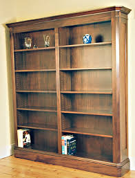 Mahogany Bookcase Wilson Woodworking Shaker Furniture Traditional And