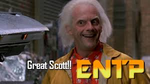 Doc Brown Meme - entp emmett brown back to the future heroes villains of mbti