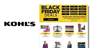 best online black friday deals saturday kohl u0027s black friday sale now live blackfriday fm