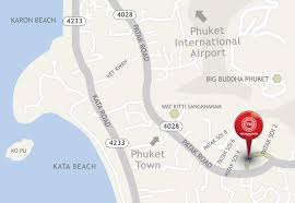 Phuket Map See The Map The Yama Hotel Phuket Kata Beach Formerly Eastin