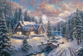 country christmas kinkade high country christmas limited edition cv
