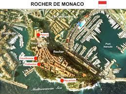 Monaco France Map by Rocher De Monaco Rock Of Monaco French Moments