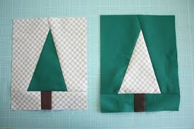 modern christmas modern christmas tree quilt block tutorial diary of a quilter