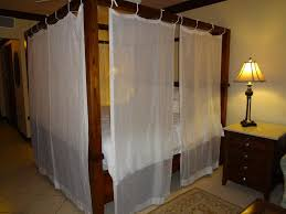 luxury canopy bed curtains contemporary canopy bed curtains