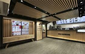 Fast Food Outlets In Hong Kong Woo Customers With Interior Design - Fast food interior design ideas