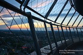 Skylon Tower Revolving Dining Room Sunset From The Skylon Tower In Niagara Falls Ontario Stay