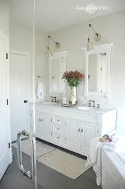 Icy Avalanche Sherwin Williams One Room Challenge Bright White Master Bathroom Final Reveal