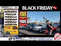 cars black friday mossy ford black friday sale 2016 youtube