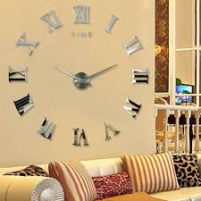 14 wall clock aliexpresscom buy home decoration metallic feeling