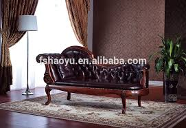 French Style Chaise Lounge Chairs Neoclassic Chaise Lounge European Style Recliners Chair French