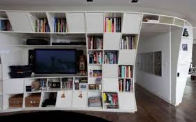 designer bookshelf home decor