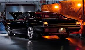 1969 Chevelle Interior Chevy U0027s Chevelle Slammer Is An Old Skool Concept With New Tricks