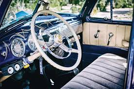 Vintage Ford Truck Steering Wheel - 1953 chevrolet 235 pickup truck of the month lowrider