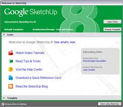 how to start using google sketchup 8 dummies
