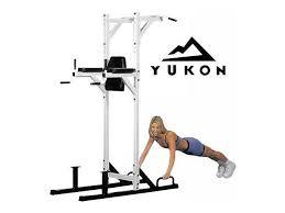 Leg Raise On Bench New Yukon Chin Pull Up Dip Leg Abs Raise Tower Machine Station