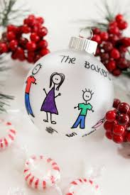 25 unique personalized family ornaments ideas on