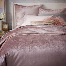 washed cotton luster velvet quilt cover pillowcases dusty