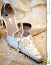 chaussures blanches mariage belles chaussures blanches de luxe de mariage photos stock image