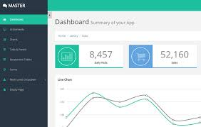 template dashboard free 20 free bootstrap admin and dashboard templates uideck
