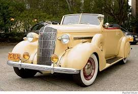 a 1936 buick convertible is