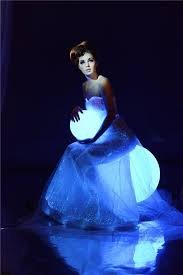 buy fordex group luminous women costume bridal flashing ball gown