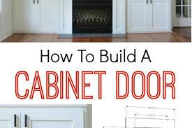 how to build cabinet door fronts cleanerla com