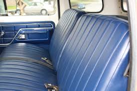 Classic Ford Truck Bench Seats - looking for seat upholstery recommendations ford truck