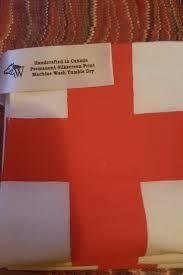 English Flag Homage To Great Britain Artisan Wolftag Presents Handmade