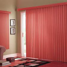 venetian blinds and curtains together beautiful sliding door