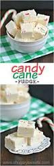candy cane fudge shugary sweets