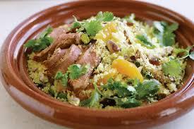 moroccan style lamb with pistachio couscous