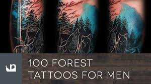 100 forest tattoos for men youtube