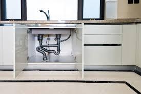 sink kitchen cabinet base repair how to clean mold interior wood my kitchen sink