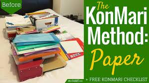 the konmari method u0027paper u0027 round 2 howtogyst com