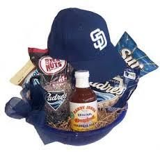 baseball gift basket san diego padres gift basket