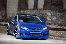 tuner honda civic honda civic si for sema by fox marketing car tuning styling