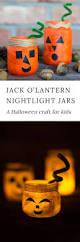 how to make jack o u0027lantern nightlight jars
