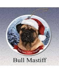 find the best deals on pet gifts bull mastiff santa hat