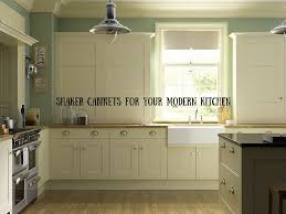 shaker cabinets for your modern kitchen