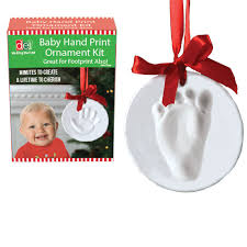 baby handprint ornament kit