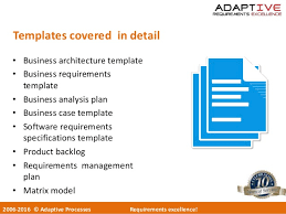 adaptive integrated business analysis cbap cpre workshop v8 0
